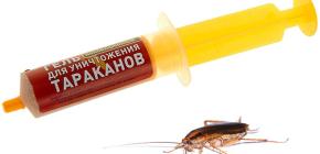 Remedii pentru gândacii din seringă (geluri): o revizuire a medicamentelor și nuanțele utilizării lor